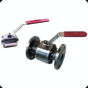 Ball control valve pneumatically actuated